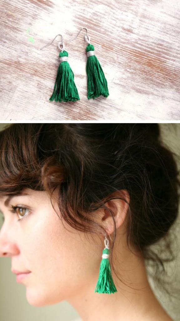 Lindos aros bricolaje para lucir elegante | Moda y belleza
