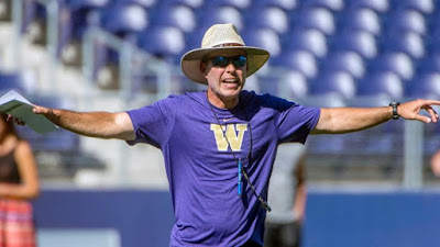Chris Petersen on facing Boise State as Washington head coach.