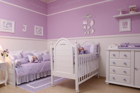 Foi o tom que escolhi para o quarto da minha bebê!