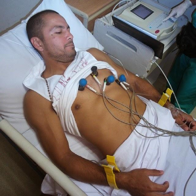 Derek Ramsay has pneumonia