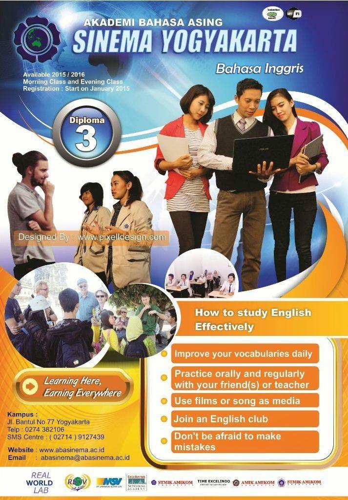 Contoh Poster Pendidikan Pendaftaran Kampus Universitas