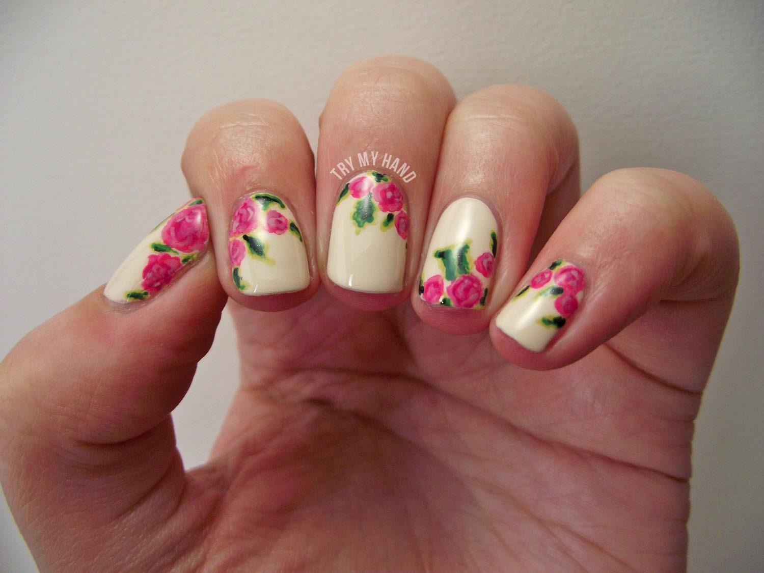 Try my hand tutorial rose floral alphabet nail art challenge tutorial rose floral alphabet nail art challenge solutioingenieria Choice Image