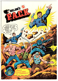 Big Jim's PACK Comic Book