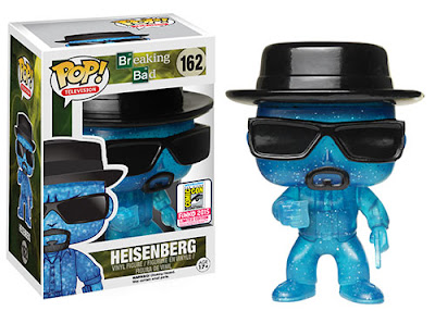 "San Diego Comic-Con 2015 Exclusive Breaking Bad ""Blue Crystal"" Heisenberg Pop! Vinyl Figure by Funko"