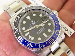 ROLEX GMT MASTER II BLUE BLACK CERAMIC aka BATMAN 116710BLNR - SERIAL RANDOM 2013 - VERY MINT COND