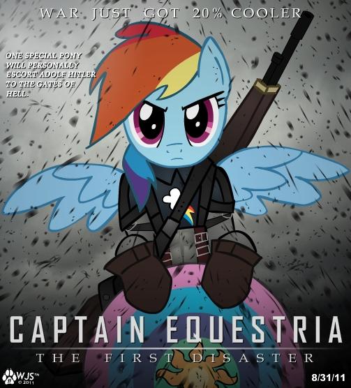Captain Equestria por wolfjedisamuel
