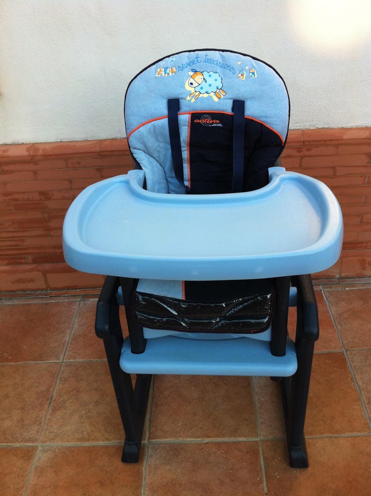 Trona jan activa convertible en mesa silla el for Silla que se convierte en mesa