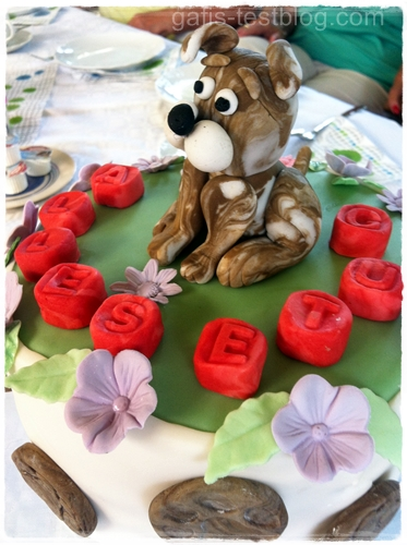 Boxer-Torte