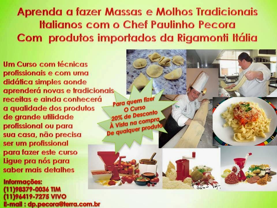 O mago das panelas for Curso de gastronomia pdf
