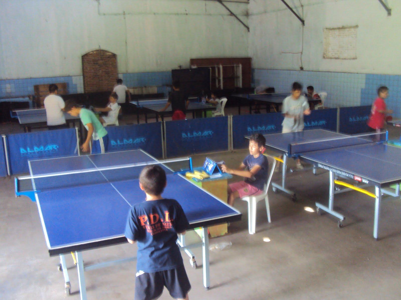 Intercolegial Paso de los Libres de Tenis de Mesa