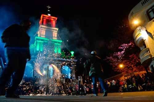 Serenata marca el inicio de la festividad de San Roque