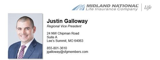 Justin Galloway - Regional Vice President
