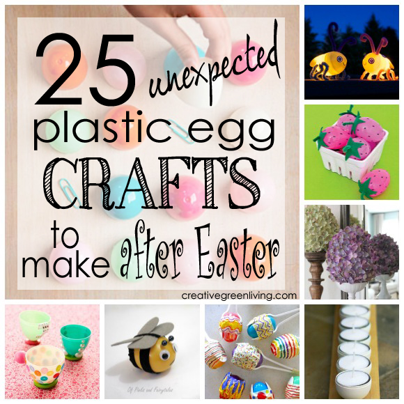 25 Unexpected Plastic Egg Crafts To Make After Easter