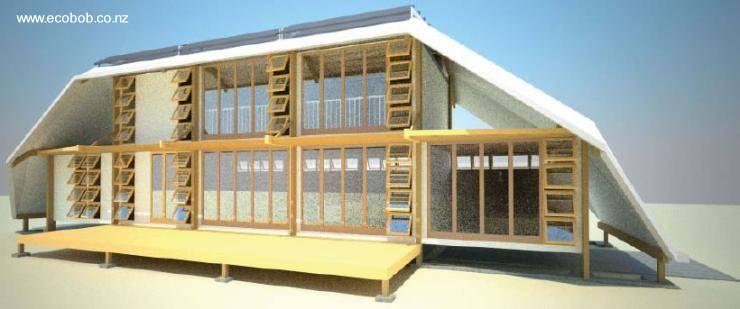 Arquitectura de casas casas ecol gicas por un futuro - Casas de madera para vivir ...