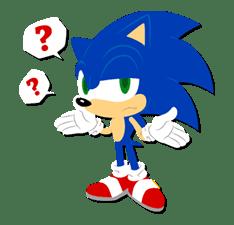 ... stiker sonic the hadgehog dengan judul 10 stiker kartun sonic the