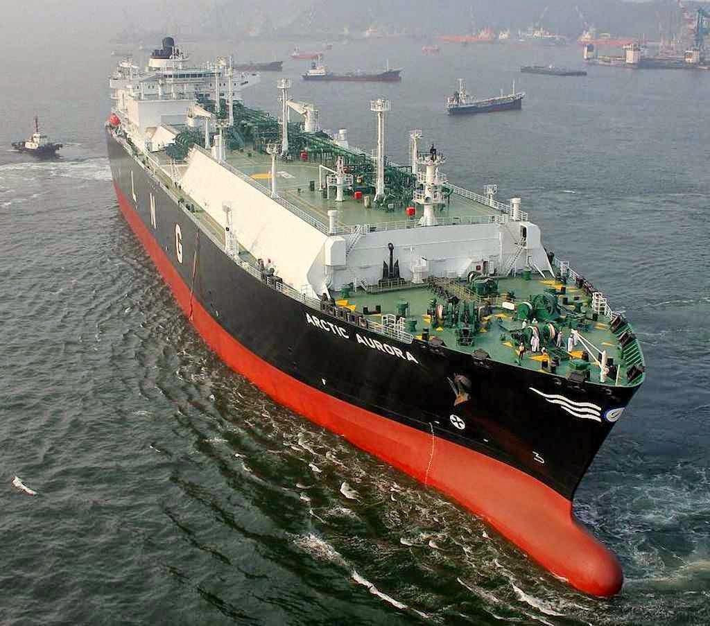 Início das remessas de LNG no porto de Klaipeda. Lituânia se torna independente do gás russo