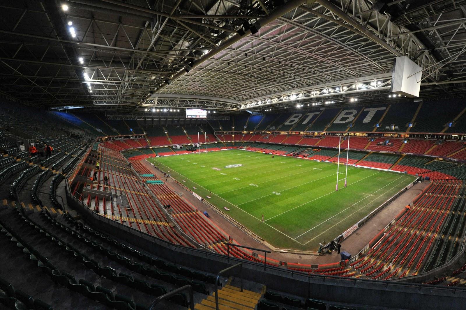 England And Wales 2013 Cardiff La Capitale Du Pays De