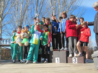 Subcampeones Cross Comunidad Madrid 2013
