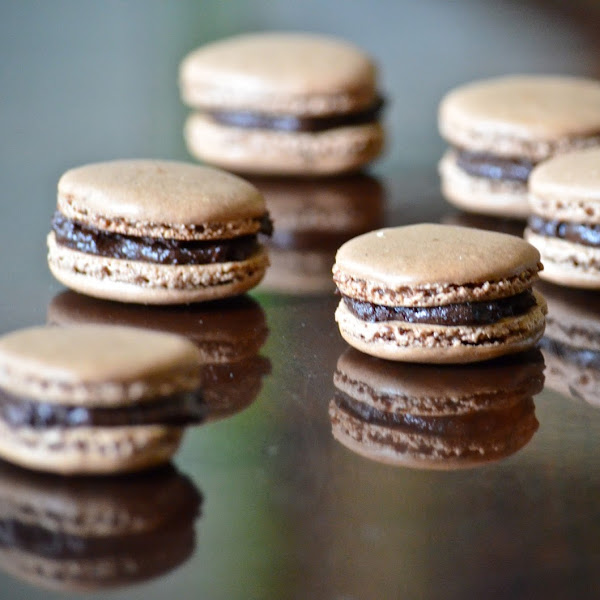 Made with Consternation Part I (Chocolate Macarons)
