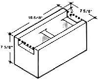 8 cmu dimensions concrete masonry unit size. Black Bedroom Furniture Sets. Home Design Ideas