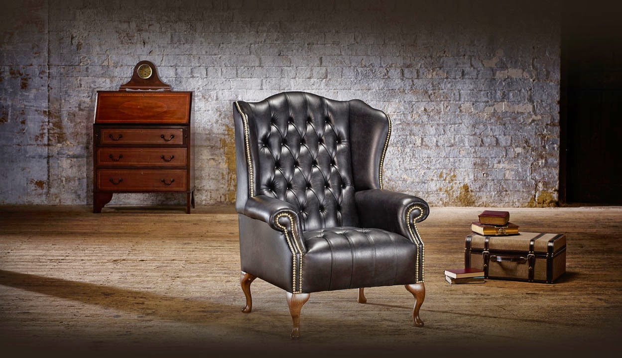 Poltrone e divani chesterfield originali inglesi collins - Divani originali ...