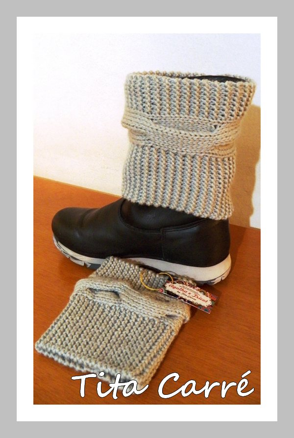 Boots Cuffs - Polaina multifuncional em tricot