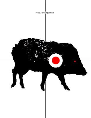 javelina target
