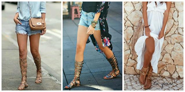 Gladiadora - A sandália mais desejada do verão!