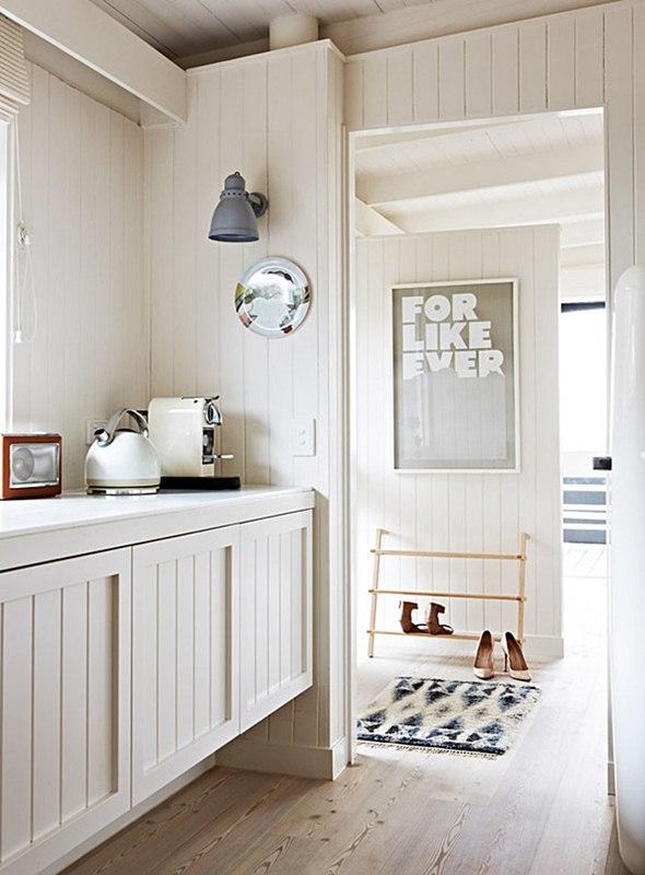 Interior Scandinavian Design Renovated Melbourne Cottage
