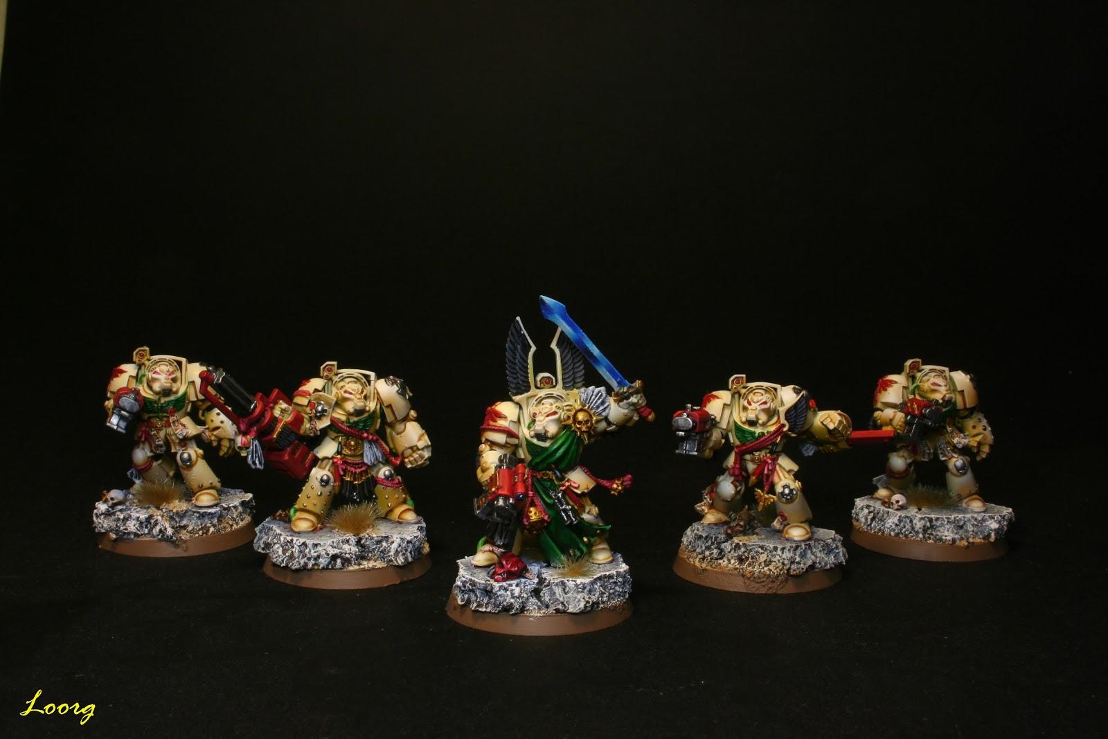 Conjunto de los 5 Exterminadores del Ala de la Muerte de los Ángeles Oscuros