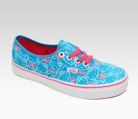 Luxury  hello kitty items again they add more new colors designs and collectibles like backpacks socks apparels and of course their trendy Vans Kitty