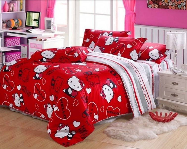 Merveilleux Hello Kitty Bedroom Decorations