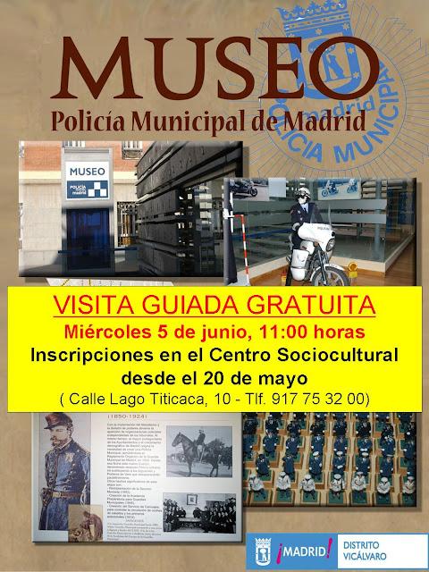 Visita guiada Museo Policía Municipal 5 junio 2013