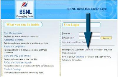 BSNL Registration