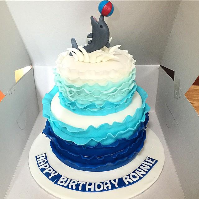Cake Decorating Designs Fish