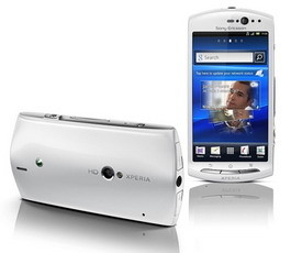 Sony Ericsson Xperia neo V with 3D