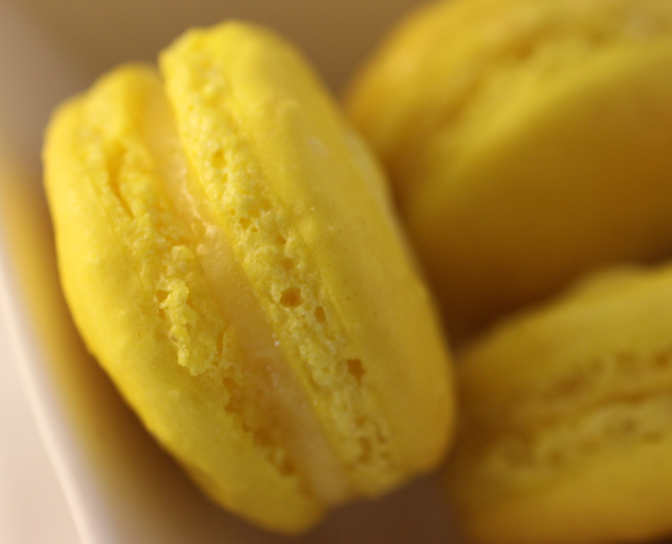... with the meyer lemons i haven t made macarons for quite some time