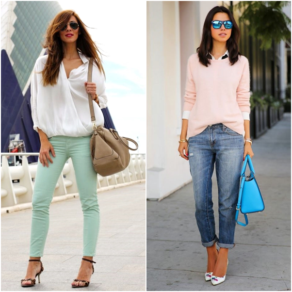 Tendência Inverno: Tons Pastel Candy Color 2014 Looks Trend