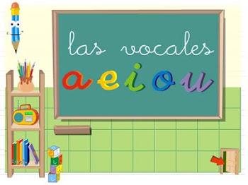 Aprendo las vocales.