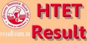 HTET Results 2014
