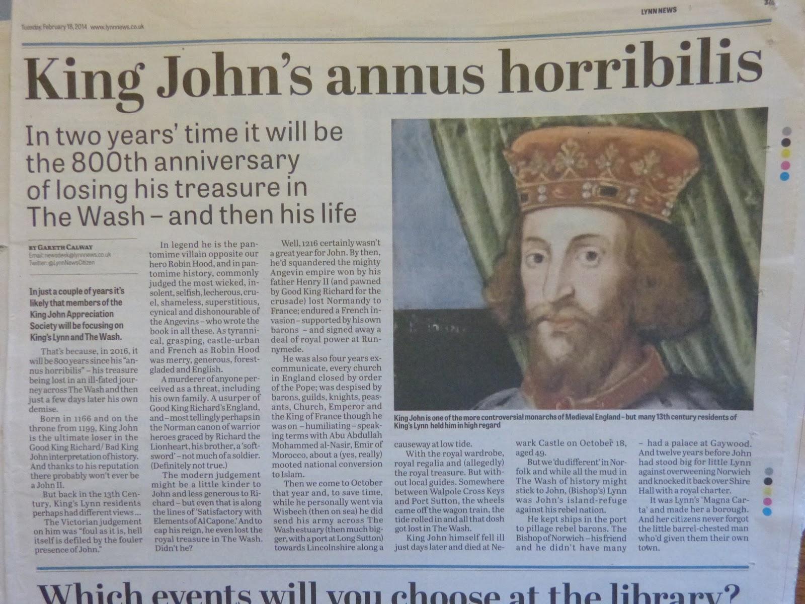 Gareth Calway - Bard On The Wire: Good King John