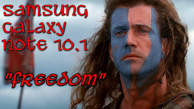 Samsung Galaxy Note 10.1 Freedom