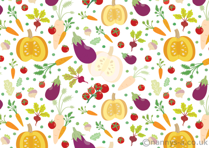 Vegetable pattern - photo#15