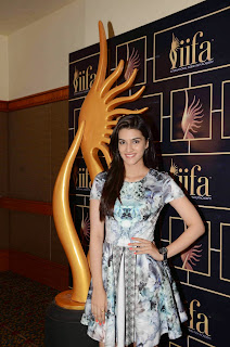 Actress Kriti Sanon Pictures in Short Dress at The 16th IIFA Awards 2015 Press Meet 8