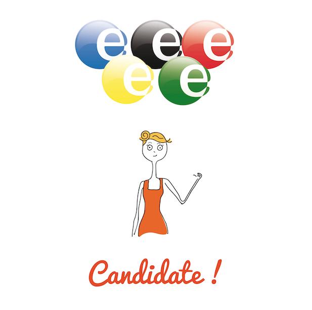 Paris ville candidate aux JO, les anneaux olympique, pole emploi et chômage, candidat, candidate, Illustration, dessin