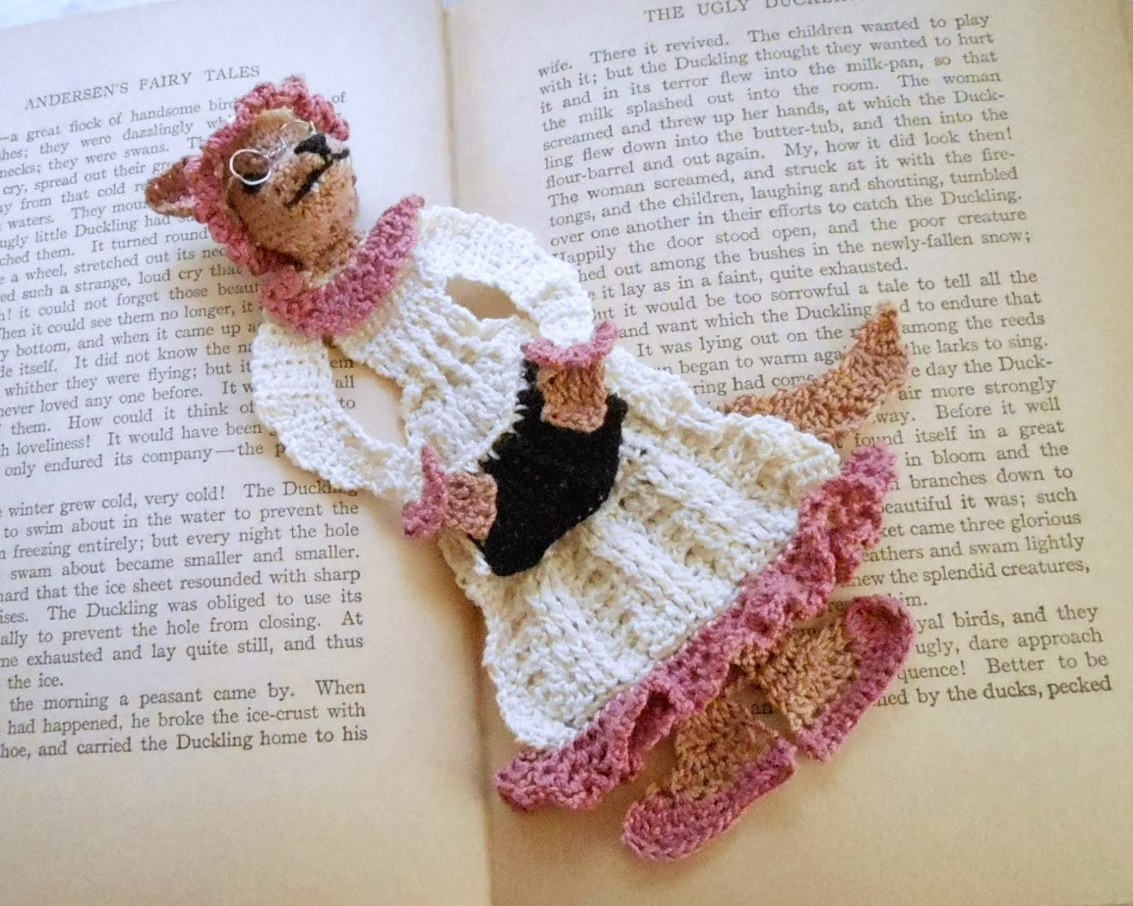 Wolf in grandma's clothing bookmark