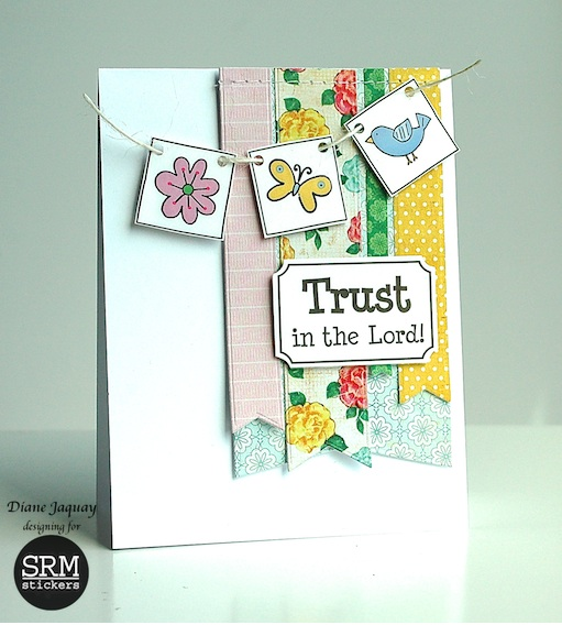SRM Stickers Blog - Shine Your Light by Diane - #cards #gift #faith #stickers #religious