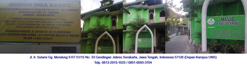 Masjid Al Firdaus Surakarta