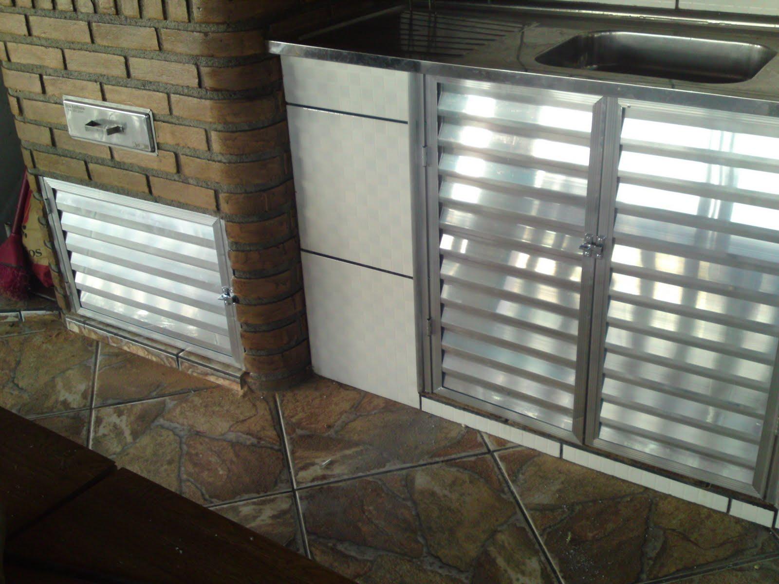 Wibamp Com Armario De Pia De Cozinha De Aluminio Id Ias Do  ~ Porta Sanfonada Para Cozinha