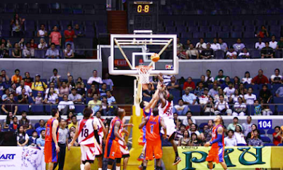 Bolts vs Beermen